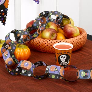 Trick Or Treat Paper Chains