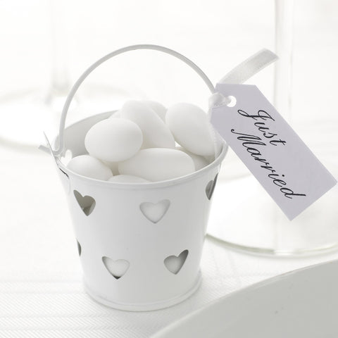 Heart Favour Pales White
