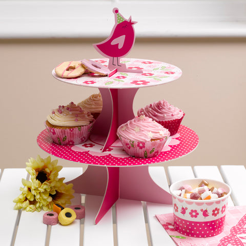 Cake Stand Birthday Party Girls Little Bird Cake Accessories