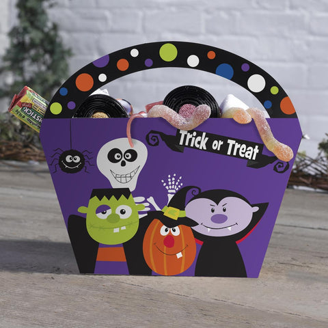 Pack Of 4 Trick Or Treat Lunch Boxes