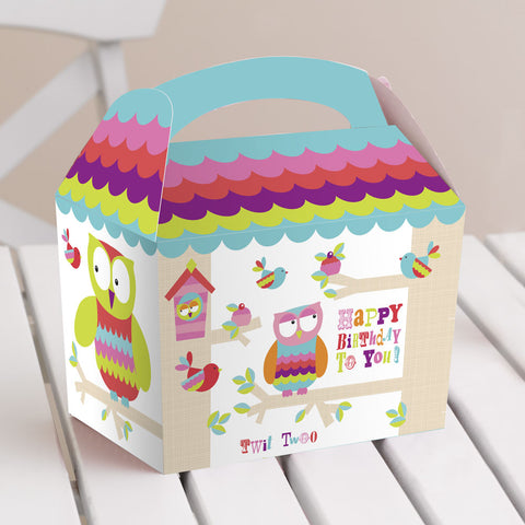 Happy Birthday Tree Top Friends Lunch Boxes
