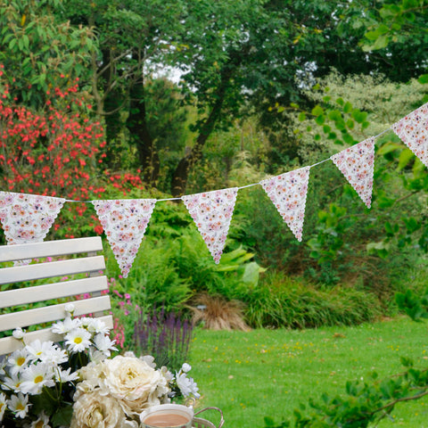 Time For Tea Paper Bunting