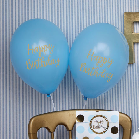 Pattern Works Party Balloons Blue