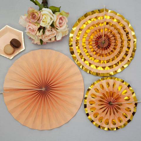 Pinwheels Peach 3 Pack