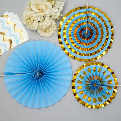 Pinwheels Blue 3 Pack