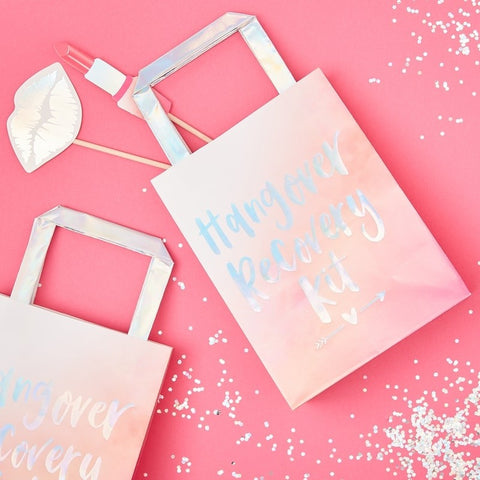 Hen Party Hangover Recovery Party Bags - Bride Tribe