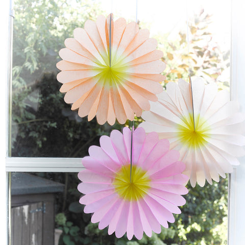 Talking Tables Decadent Garden Flower Fans ? Minim...