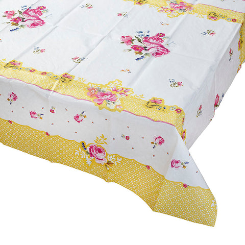 Pretty Floral Table Cover