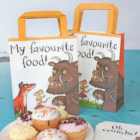 Talking Tables The Gruffalo Party Bags Pack Of 8, Paper, Multicolour