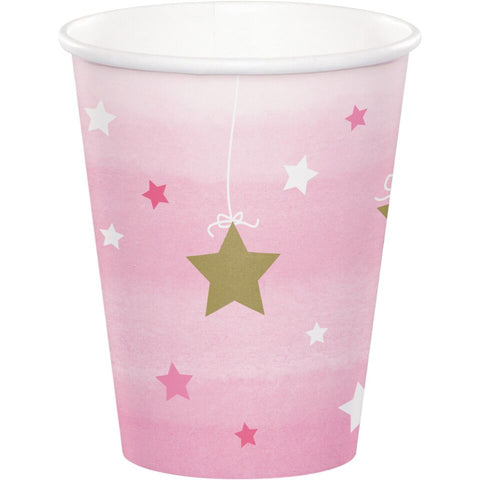 Twinkle One Little Star Girl 9 Oz Cups Case Of 12