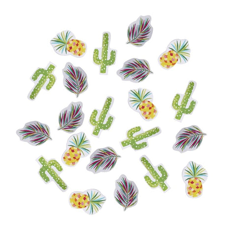 Cactus & Pineapple Table Confetti - Hot Summer