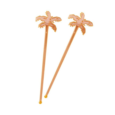 Palm Drink Stirrers - Hot Summer