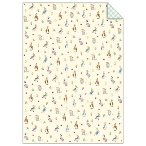 Peter Rabbit & Friends Gift Wrap Sheets