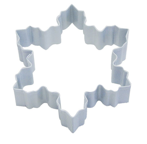 Creative Party Cookie Cutter Snowflake White Large