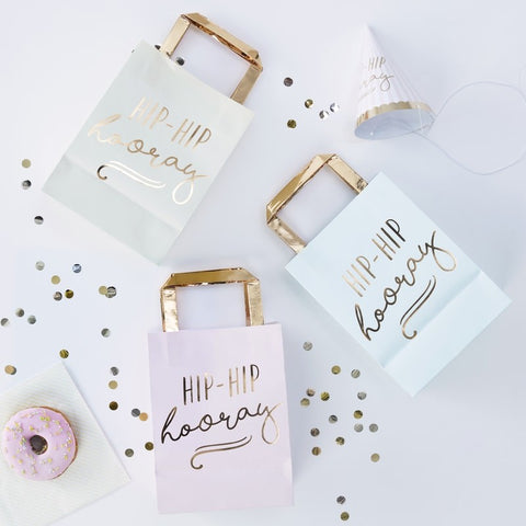 Hip Hip Hooray Pastel Party Bags