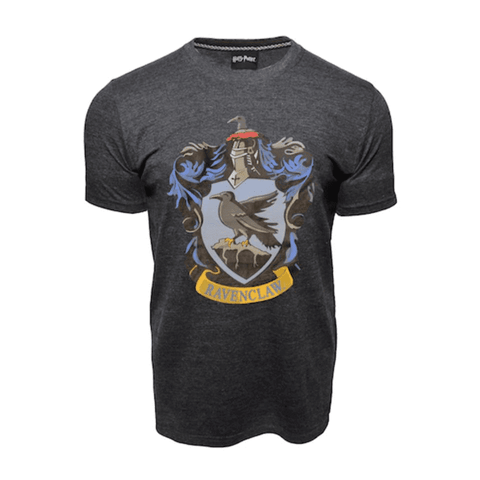 Harry Potter - T-Shirt - Ravenclaw Crest (Large) Dark Grey