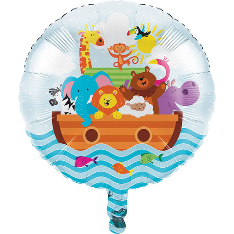 Noak\'S Ark Foil Balloon Air Helium Party Decoration Supplies Baby Shower Unisex