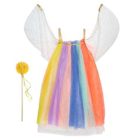 Rainbow Girl Dress Up 3-4 years