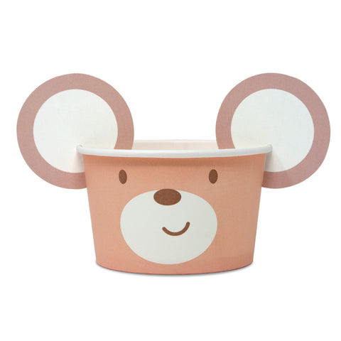 Teddy Bear Treat Tubs 8 tubs Per Pack
