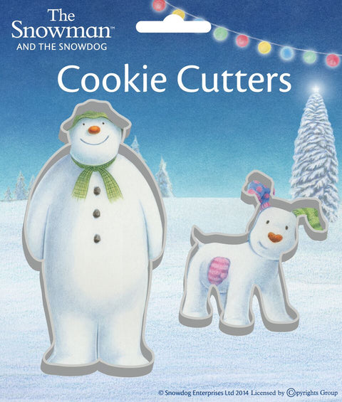 Anniversary House The Snowman + Dog Cookie Cutter X 2 K0001/Ss