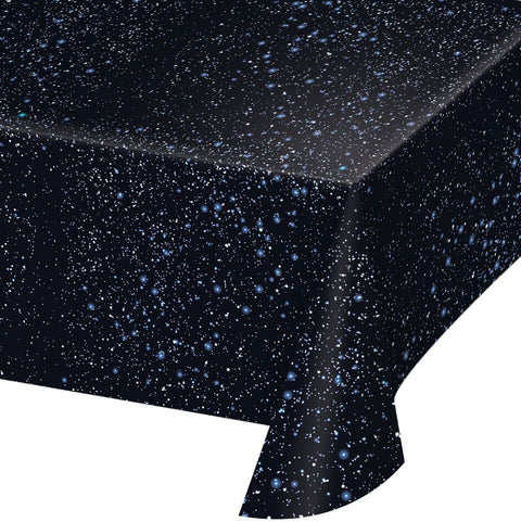 Space Blast Plastic Tablecover 54