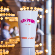 Harpoon Dunkin' Porter Pint Glass