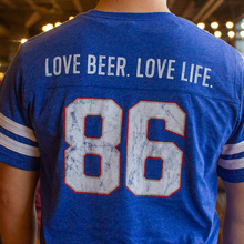 Blue Harpoon 86 Football Shirt