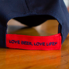 Red/Navy Patch Hat