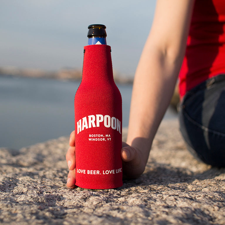 Harpoon Bottle Koozie