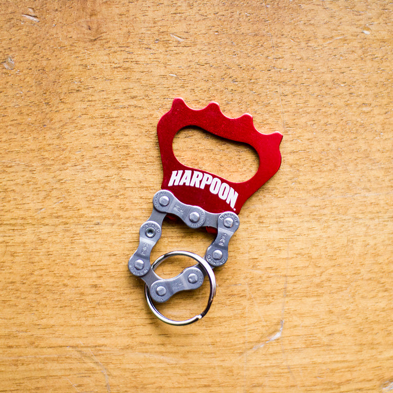 Harpoon Bike Keychain