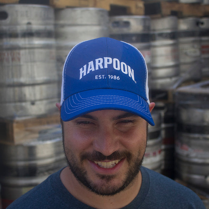 Harpoon Trucker Hat