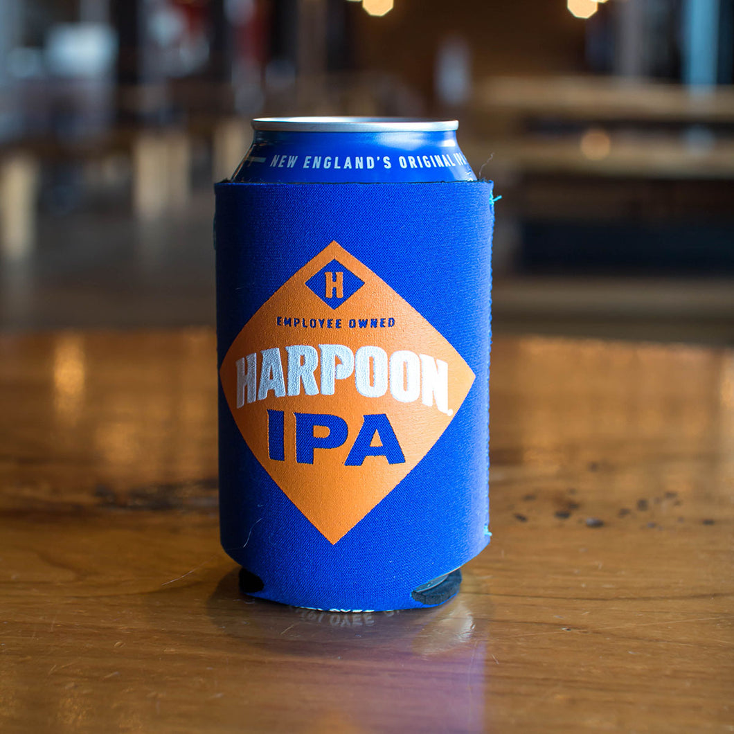 Harpoon Blue IPA 12 oz. Can Collapsible Koozie
