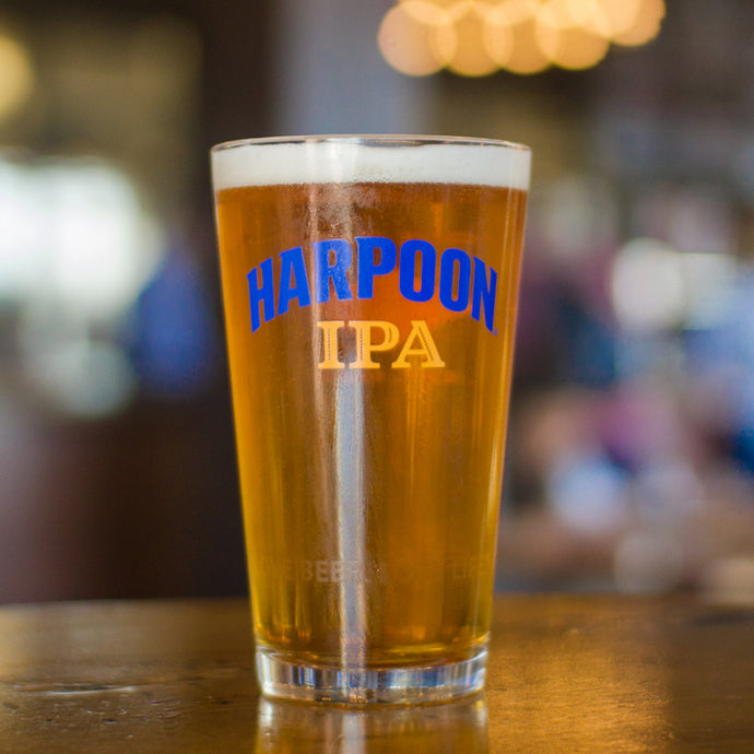 Harpoon IPA Shaker Pint Glass