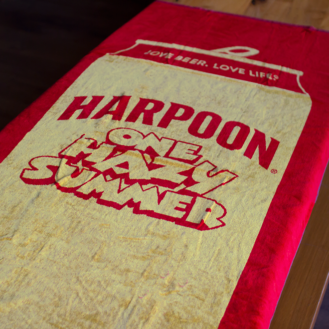 One Hazy Summer Beach Towel
