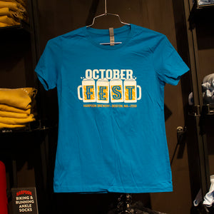 2019 Harpoon Octoberfest Blue Women's T-shirt - Boston