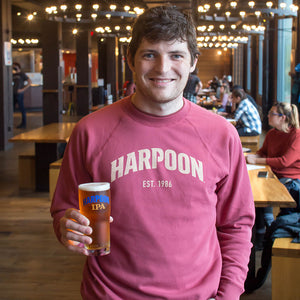 Red Harpoon Crew Neck