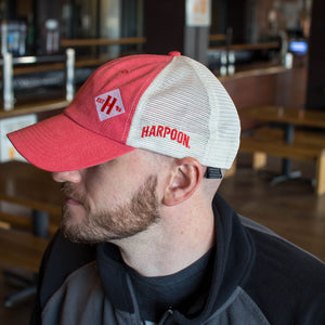 Harpoon Pink Trucker Hat