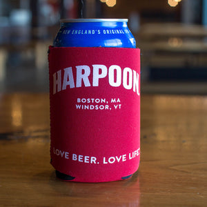 Harpoon Red 12 oz. Can Collapsible Koozie