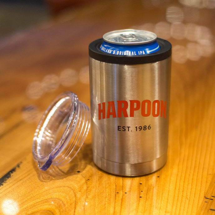 Harpoon Stainless Can Koozie and Cup