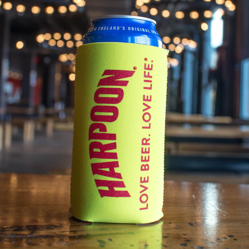 Yellow 16 oz. Can Collapsible Koozie