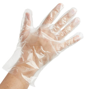Plastic disposable gloves (100) - i-Spa