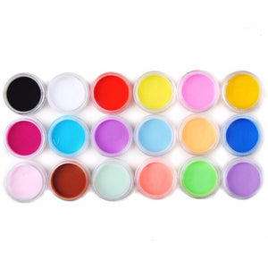 Acrylic colour set - 18pc