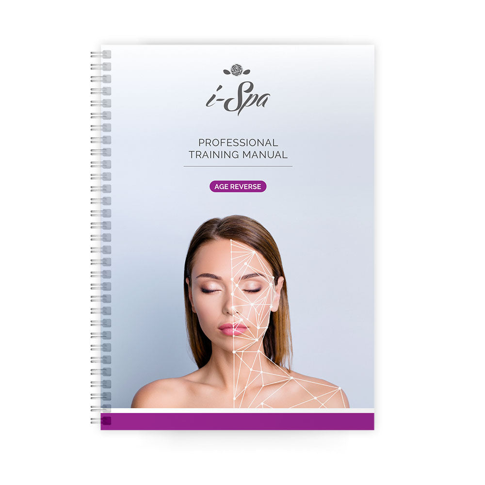i-Spa Age Reverse Facial Training Manual (eBook or Hard Copy)
