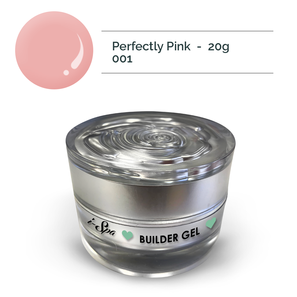 Builder gel 001 - Perfectly Pink 20g