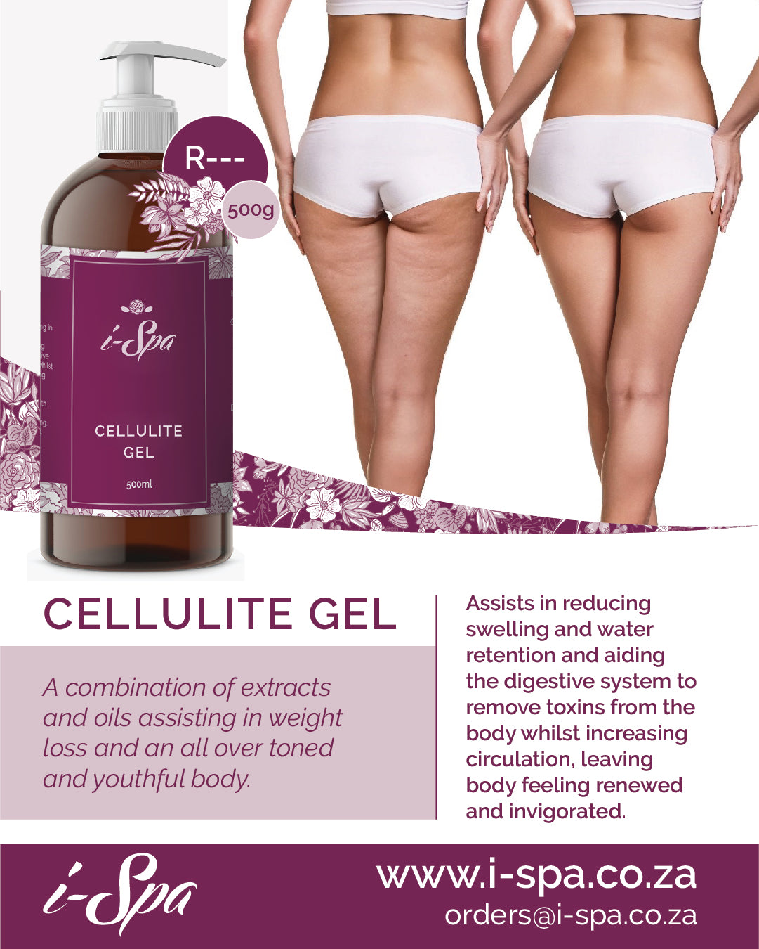 Cellulite gel - 500ml