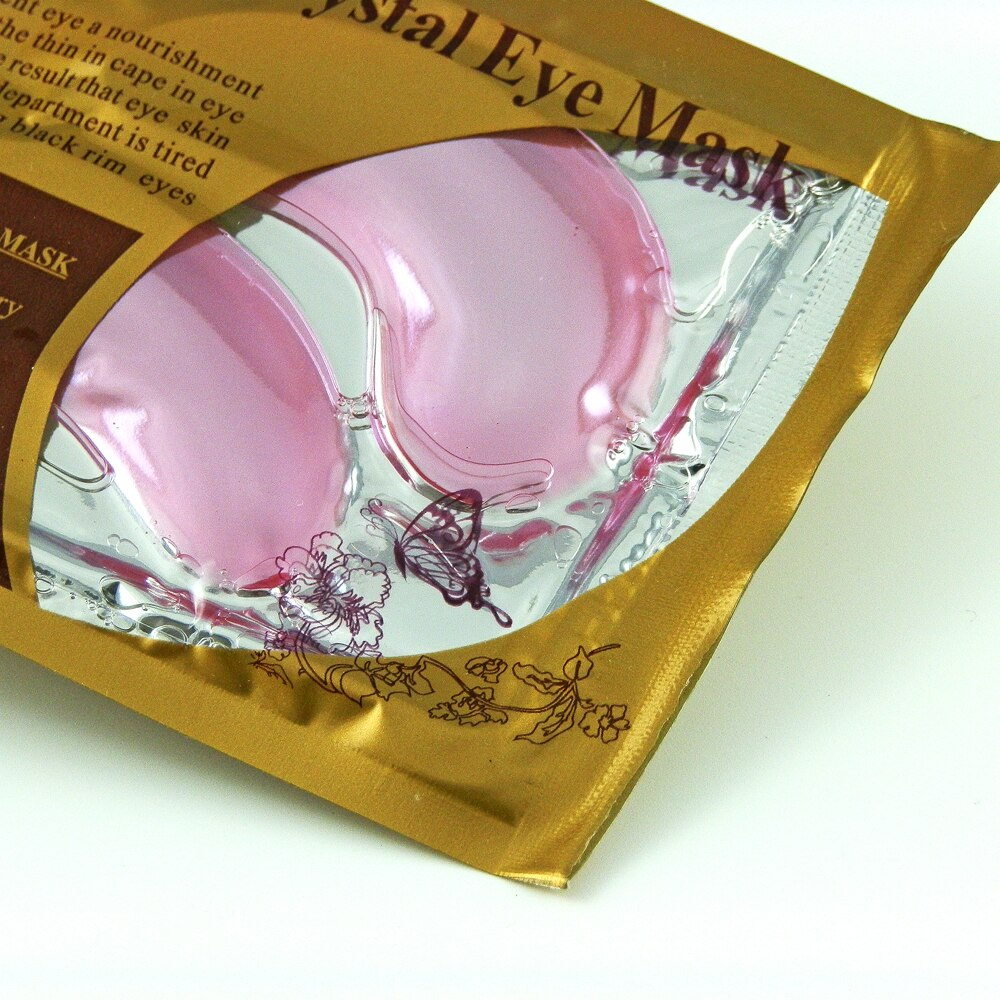 Collagen Crystal Eye Mask - Pink (Pair)