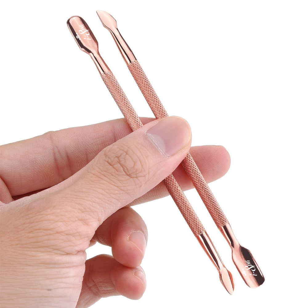 i-Spa Cuticle Pusher Rose Gold