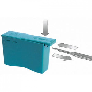 Dermaplaning Blade Removal Box