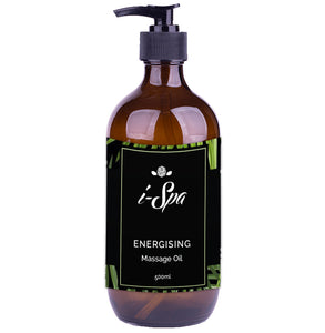 Energising massage oil 500ml