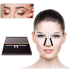 Eyebrow balancing ruler